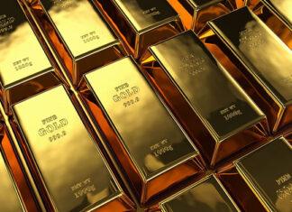 złote sztabki